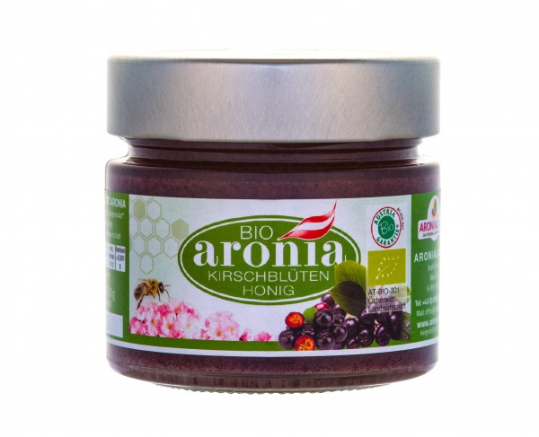 BIO-Aronia-Kirschblütenhonig 250g