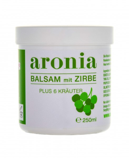 Aronia Zirben Kräuter Balsam 250ml
