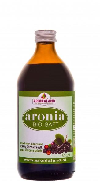 Bio-Aronia Direktsaft (0,5 Liter)