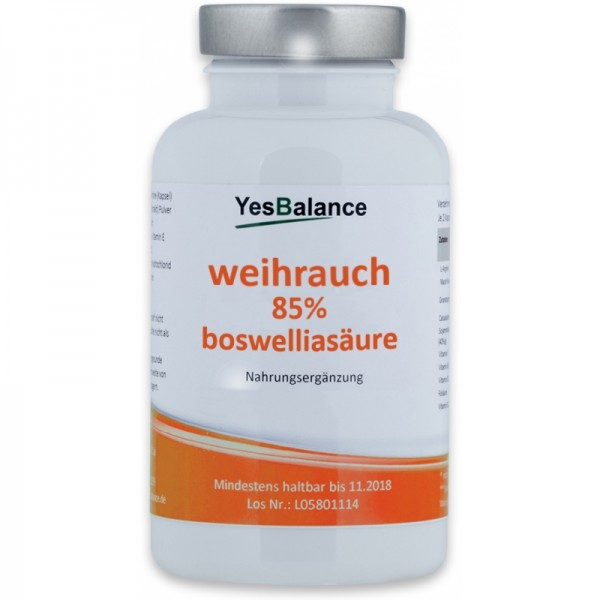 Weihrauch 85% Bosweliasäure
