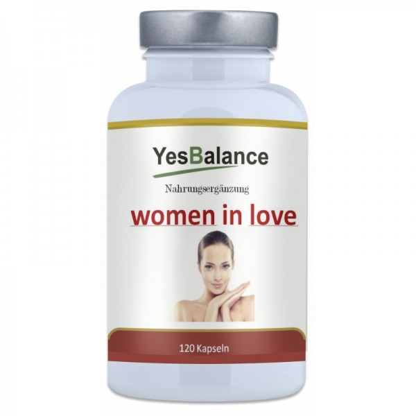 WOMEN IN LOVE - Wirkstoffe für die Frau - 120 Kapseln